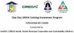GRIHA awareness programme for CREDAI, Nashik